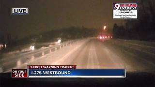 9 Live Drive reports from I-275 near Coney Island - Video