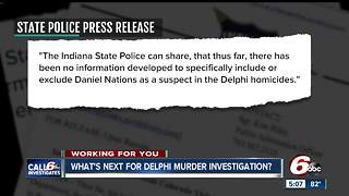 Indiana State Police say Daniel Nations neither included nor excluded as suspect in Delphi homicides - Video