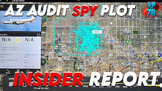 SPY PLANE Exposed in Maricopa, Audit Process Revealed By Insider - NOTHING CAN STOP WHAT IS COMING!