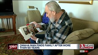 Omaha man finds family after more than 60 years