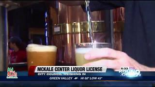 City council to meet about McKale Center liquor license - Video