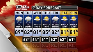 Claire's Forecast 8-5 - Video