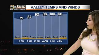 Temperatures going up in Valley - Video