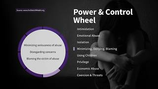 Minimizing Victim Blaming on the Wheel of Power and Control | Taking Action Against Domestic Violence - Video