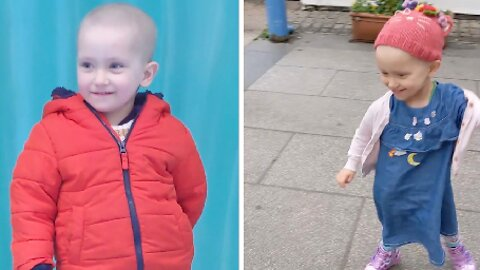 DOCS 'TOLD PARENTS TOT'S CLINGINESS WAS VIRUS TWICE' – CONFIRMED SHE HAD RARE CANCER AFTER GOOGLE DIAGNOSIS