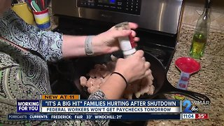 'It's a big hit': Families hurting after government shutdown