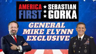 General Mike Flynn EXCLUSIVE: First post-pardon interview, with Sebastian Gorka on AMERICA First