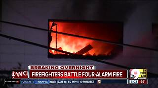 6am Walnut Hills Fire - Video