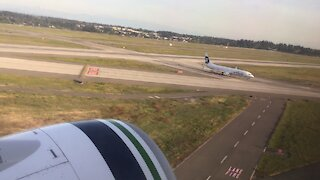 Takeoff From Seattle