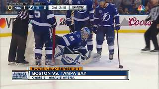 Tampa Bay Lightning eliminate Boston Bruins 3-1, advance to Eastern Conference Finals