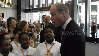 Prince William officially reopens London Bridge station - Video