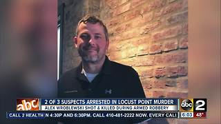 Two of three suspects arrested in murder of Alex Wroblewski - Video