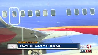 Flying flu-free: avoiding the flu bug on a plane - Video