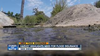 Harvey highlights need for flood insurance - Video