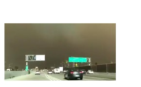 Thick, Dark Smoke From Creek Fire Near Los Angeles Fills Sky - Video