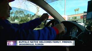 Buffalo native welcomes family, friends in Jacksonville - Video