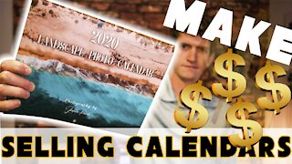 How To Create and Sell Calendars for UNDER $5!