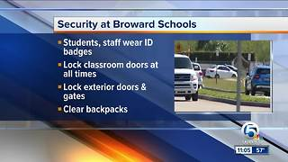 Clear backpacks, other security changes made at Stoneman Douglas High School - Video