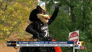 Alumni celebrate University of Cincinnati homecoming - Video