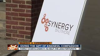 Synergy Baltimore brings together supplies, resources for the less fortunate - Video
