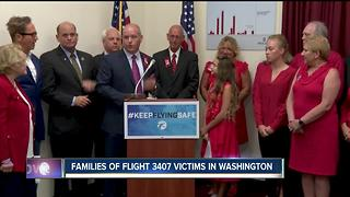 Families of Flight 3407 victims in Washington - Video