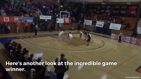 HS Freshman Nails Buzzer Beater From Over 70 Feet Out
