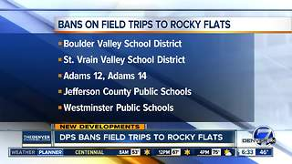 Denver Public Schools votes to ban field trips to Rocky Flats National Wildlife Refuge - Video