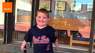 Kid Leaves Hospital After Heart Transplant - Video