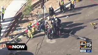 Man rescued after falling into manhole in Goodyear