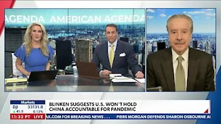 Blinken Suggests U.S. Won't Hold China Accountable For Pandemic