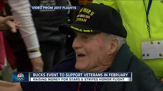 Milwaukee Bucks event to support Veterans in February - Video
