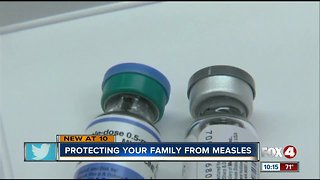 The CDC says measles cases on the rise