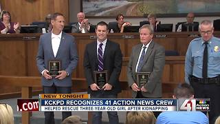 41 Action News team honored by KCK police - Video
