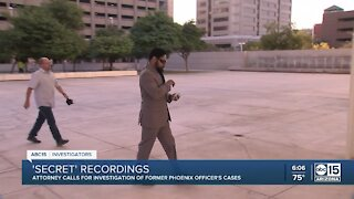 Former Phoenix police officer admits to having secret recordings of conversations during stops