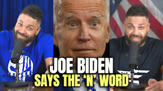 "Joe Biden Says The ""N"" Word"
