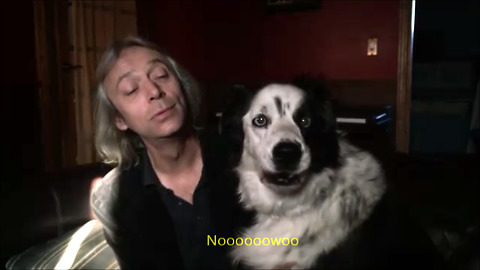 "Whiny dog clearly says ""NO"" to singing"