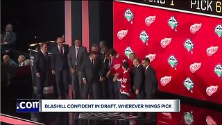Jeff Blashill confident in draft, wherever Red Wings pick