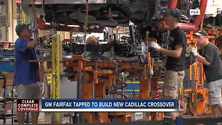 GM Fairfax plant building new Cadillac crossover - Video