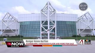 New Kemper Arena owners auction off memorabilia - Video