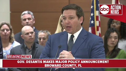 Governor Ron DeSantis wants grand jury to look into school safety, security