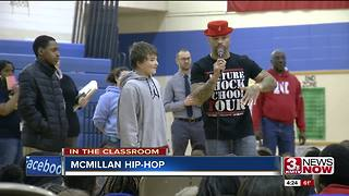 Hip-hop helps build school culture
