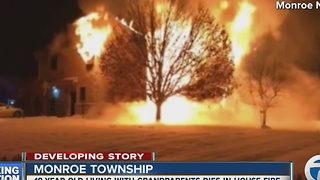 Deadly house fire in Monroe - Video