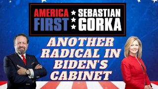 Another radical in Biden's Cabinet. Sen. Marsha Blackburn with Sebastian Gorka on AMERICA First