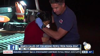 Search called off for missing people on panga boat