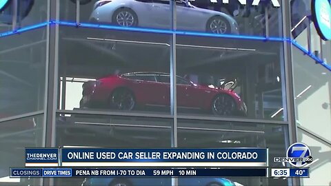 Carvana expanding in Colorado