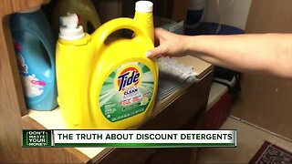 The truth about discount detergents