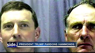 President Trump pardons Hammonds - Video