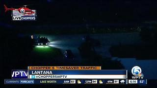 Chopper 5: Rollover crash in Lantana - Video
