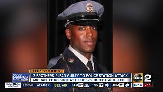 2 brothers plead guilty in fatal Maryland police shooting - Video
