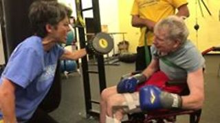 Indianapolis Gym Helps Parkinson's Patients Punch Out Their Symptoms - Video